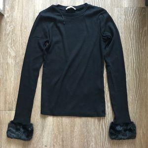Black Long Sleeve Zara Top S